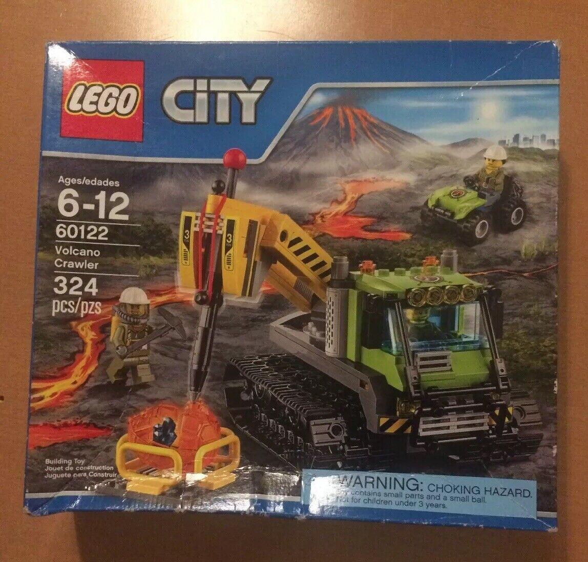Lego City Volcano Crawler 60122