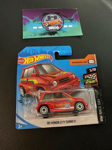 Honda City Turbo 2 rot neue Farbe   2020 Neu OVP Hot Wheels