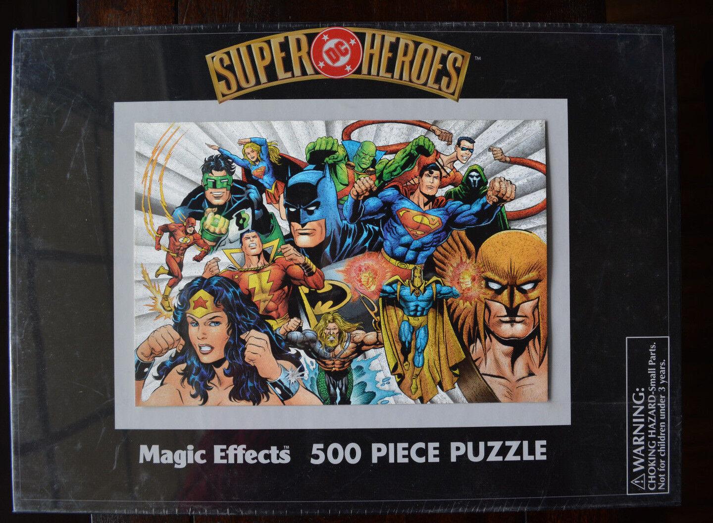Super DC Heroes Magic Effects 500  Piece Puzzle 2000  risparmiare sulla liquidazione