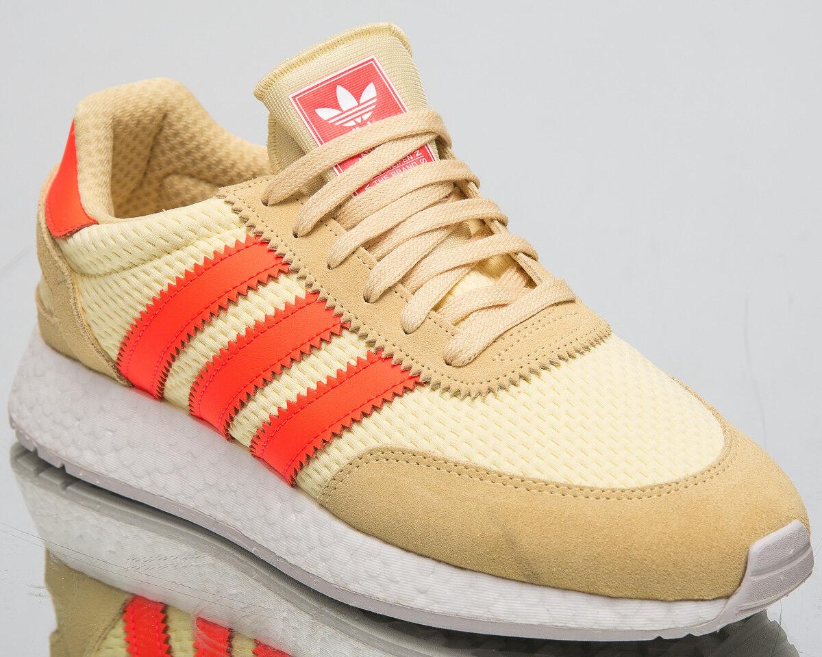 Adidas Original I-5923 Herren Neu Gelb Rot Freizeit Lifestyle Turnschuhe D96604 Moderne Technologie