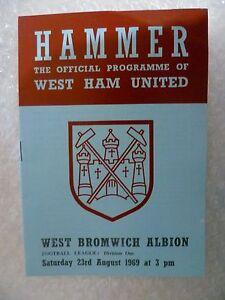 1969-WEST-HAM-UNITED-v-WEST-BROMWICH-ALBION-23rd-Aug-League-Division-One