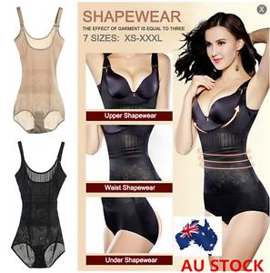 d4188be99127b Image is loading Women-Plus-Size-Underwear-Shaper-Shapewear-Bodysuits -Corset-