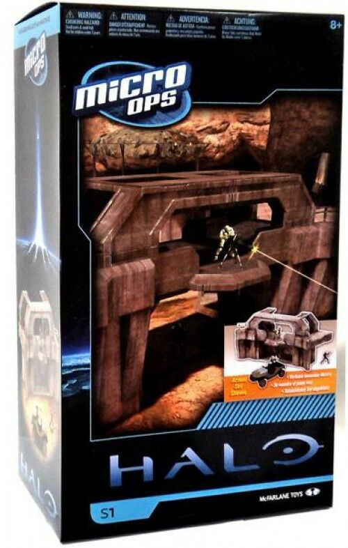 McFarlane Toys Halo Micro Ops Series 1 High Ground Gate Box Set