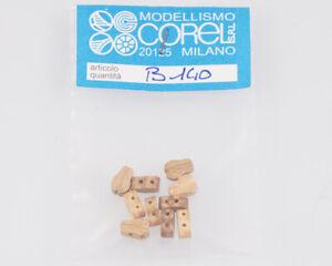Corel B140 Crochet-Moufle Violon 1 Yeux 8 MM (10 Pièces) Modélisme