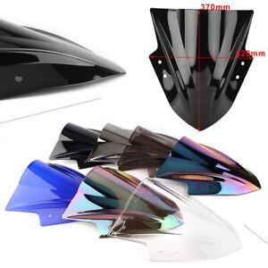 Motorcycle Front Windshield Screen For KAWASAKI EX300 ninja 300/250 2013-17 New