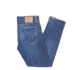Levi-039-s-Levis-Jeans-508-W32-L30-blau-stonewashed-32-30-Straight-B1588