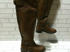 Ladies ALDO THESA Brown Leather Over The Knee Boots UK 4 EURO 37 RRP £150 NEW