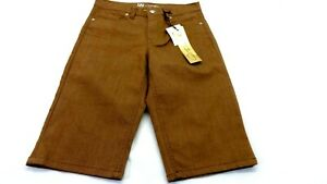 NWT-DIANE-GILMAN-WOMEN-039-S-BROWN-STRETCH-CAPRI-LENGTH-JEANS-SIZE-8