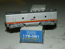 N Scale KATO 176-061 Santa FE F3b Powered Diesel Locomotive With DCC