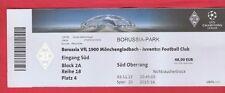 Orig.Ticket   Champions League  2015/16  B.MÖNCHENGLADBACH - JUVENTUS TURIN  !!