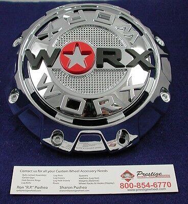 Worx Alloy Chrome 5//6-Lug Center Cap WRX-8856