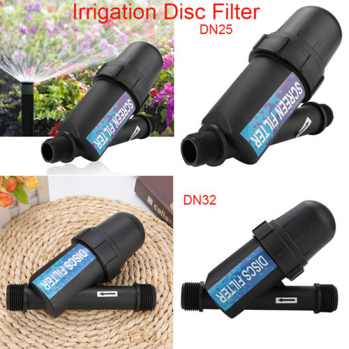 Disc Screen Irrigation Filter Drip Irrigation Water Tank Pump for Gardening