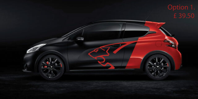 peugeot 208 gti special edition decals for sale online | ebay