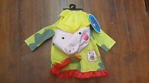 cd1a643a8b35 Peppa Pig Raincoat Rain Coat Costume eOne 1491 Infant Toddler