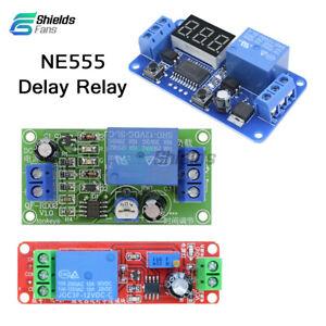 Digitla-LED-Display-DC-12V-NE555-Delay-Time-Relay-Timer-Switch-Adjustable-Module