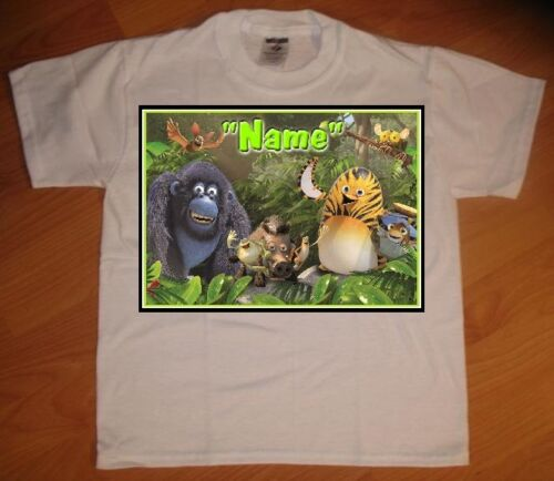 Jungle Bunch Personalized Birthday Party Favor Gift T-Shirt NEW