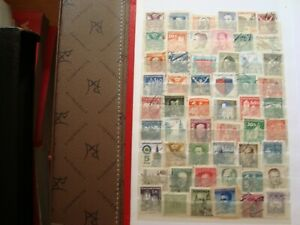 Czechoslovakia-54-Stamps-Canceled-Brand-State