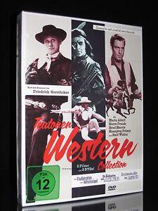 DVD TEUTONEN WESTERN COLLECTION - 3 DEUTSCHE WESTERN NACH FRIEDRICH GERSTÄCKER *