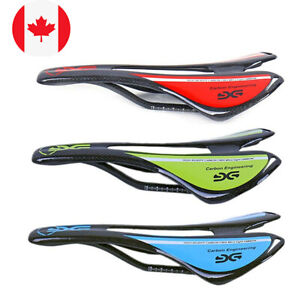 100/% Carbon Fiber Mountain Road Bike MTB Cycling Racing Saddle Seat Cushion Pad