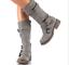Womens-Zipper-Buckle-Mid-Calf-Boots-Vintage-Buckle-Sz35-43-Combat-Vintage-Shoes thumbnail 5