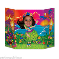 Luau Hula Dancing Girl Stand-up Photo Prop Beach Party Decoration