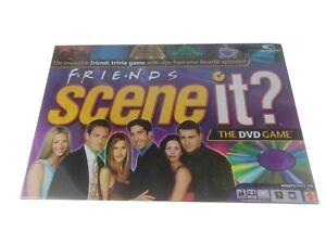 Scene It Friends Trivia Board Game - First Edition - DVD - Mattel - New Sealed