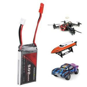 7-4V-500mAh-25C-Rechargeable-Lipo-Battery-With-JST-Plug-for-RC-Model-Accessory