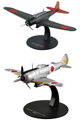 Lot de 2 Avions Japonais Nakajima WW2-1//72 militaire diecast DeAgostini