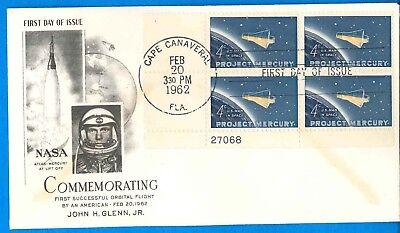 The Best Nasa Envelope Cover '62 Vtg Atlas-mercury Lift Off John Glenn 1st Orbital Flight