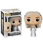 Funko Pop Vinyl Figura de acción Game Of Thrones Daenerys JON NIEVE Wolf Juguete