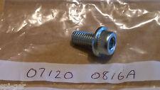 RF-600-900 GSXR-1100-W Genuine Suzuki Cylinder Head Oil Gallery Bolt 07120-0816A