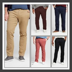 17cbf0d2 Image is loading GOODFELLOW-CHINOS-Slim-Fit-with-HIDDEN-EXPANDABLE-SIDE-