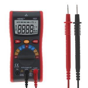 Aneng H01 Auto Range 4000counts Digital Multimeter Ac Dc Ammeter