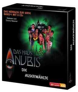 Das-Haus-Anubis-Band-4-Die-Auserwaehlte-Hoerbuch-zur-Serie-6-CD-Box-NEU-2011
