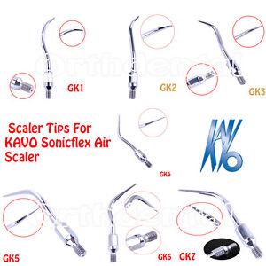 HOT-Dental-Scaler-Tips-Scaling-For-KAVO-Sonicflex-Air-Scaler-handpiece-GK1-GK7