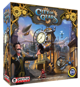 CITY OF GEAR - Steampunk Game NEW NEUF ENGLISH