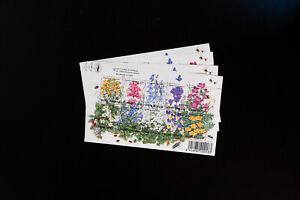 Finland-Block-10-Flower-Stamp-Lot-125-Catalogue-Value