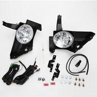 For 2005 2006 Honda Cr-v Crv Clear Lens Driving Fog Light Kit W/switch Wire Bulb