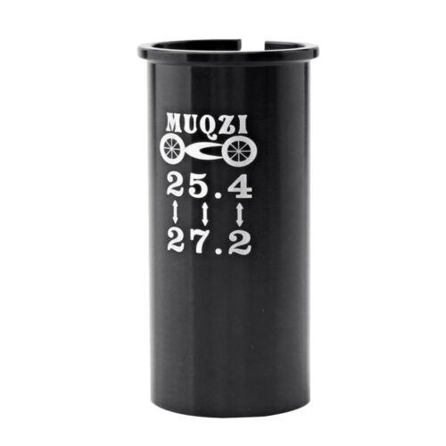 Seatpost Shim 25.4mm Seatpost to 27.2mm Bike Seat Tube Sleeve Shim Adapter