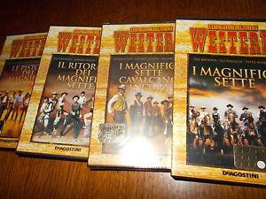 LOTTO 4 DVD SAGA I MAGNIFICI SETTE - le pistole dei magnifici 7 cavalcano ancora - Italia - LOTTO 4 DVD SAGA I MAGNIFICI SETTE - le pistole dei magnifici 7 cavalcano ancora - Italia