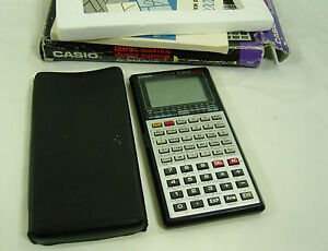 Casio FX 7000GB Vintage Graphing Calculator with original box - <span itemprop='availableAtOrFrom'>St. Albans, United Kingdom</span> - Casio FX 7000GB Vintage Graphing Calculator with original box - St. Albans, United Kingdom