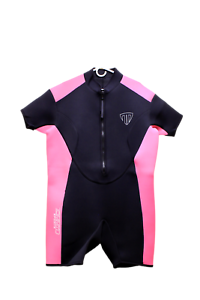 4XL Shorty Wetsuit Front Zip Style 2400 Women/'s