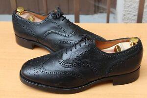 Neuve Etat 46 Uk 11 Cuir Euros Graine Richelieu Chaussures 249 Sanders Shoes wxBqT88