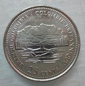 1992 Canada Newfoundland Quarter Graded as Brilliant Uncirculated