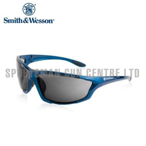 Smith et Wesson Major Full Frame Shooting glasses Blue Frame Smoke Lens