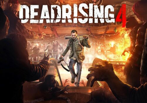 FREE P+P Dead Rising 4 Poster Xbox Windows New Hit Game 2017 CHOOSE YOUR SIZE