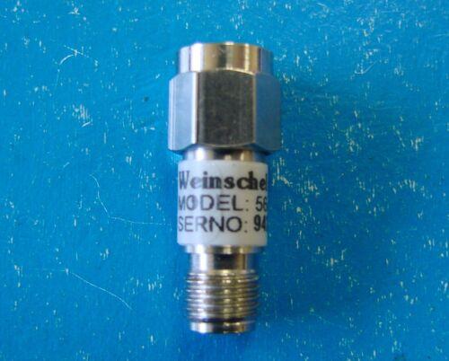 Weinschel Precision Fixed Attenuator 1.2dB DC-18GHz Model 5685-1.2 2W SMA