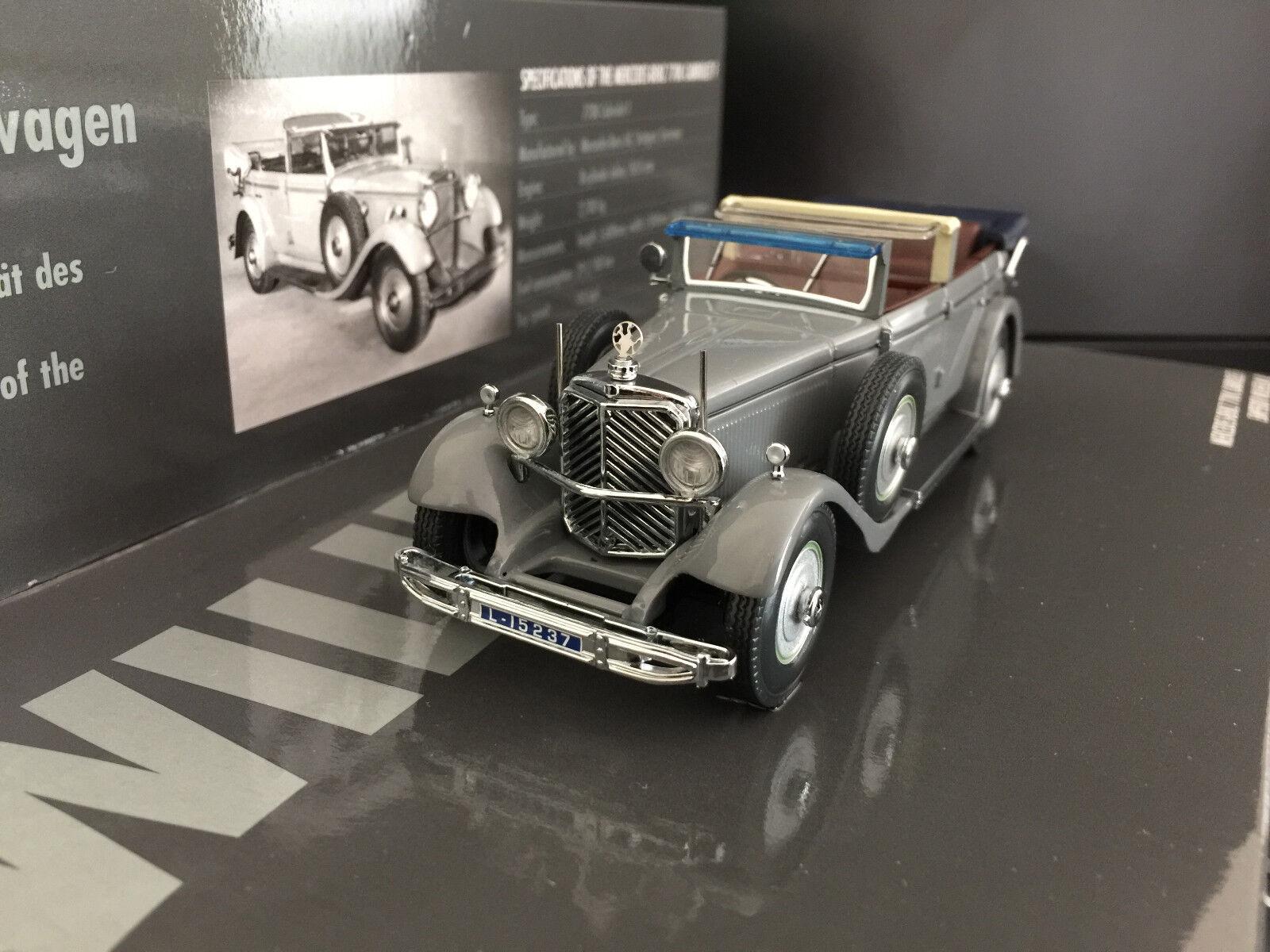 1 43 Minichamps Mercedes Benz 770 K Cabriolet Kaiser Wilhelm , 1931