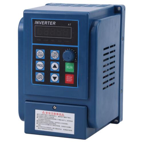 AC 380V 1.5KW Frequenzumrichter VFD 3-Phase Drehzahlregler Inverter Motor