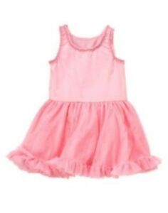 Pink christmas dress 4t - Gymboree Daisy Delightful Pink Tulle Dress 3 6 12 18 24 2t 3t Nwt